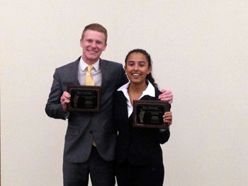 Drew and Jasmine Outstanding Attorney MTSU