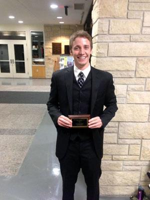 2013 Mizzou Trenton Van Oss Outstanding Attorney